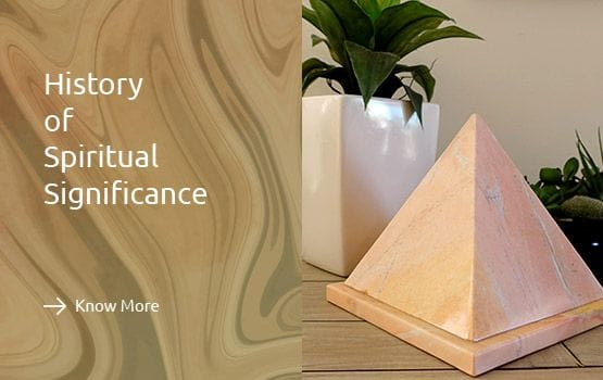 Unique Handcrafted Marble Pyramid Urns