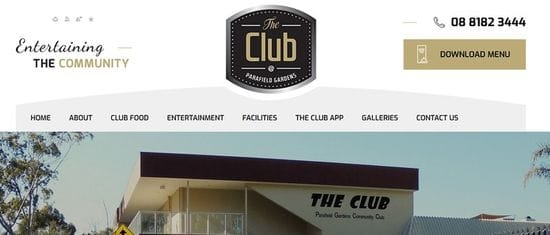 New Website Launched for 'The Club'