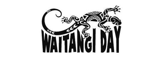 WAITANGI DAY - NEW ZEALAND PUBLIC HOLIDAY
