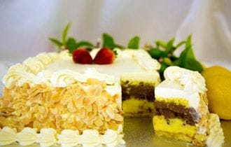 Italian Continental Cake by Pasticceria Francesco