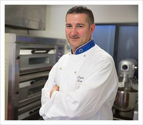 Francesco Triunfo, executive pastry chef of Pasticceria Francesco