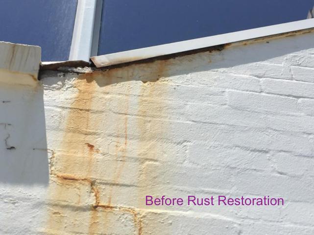 Roofing/Exterior Wall Rust Restoration