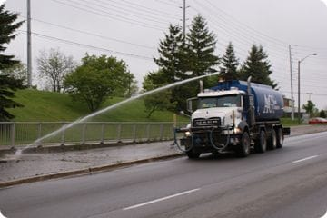 The Value of a Water Truck Rental