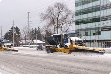 Does a Construction Site Require Salting & Snow Plowing Services?