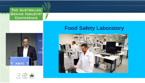 Case Study - Australian Grains Industry Conference 2018