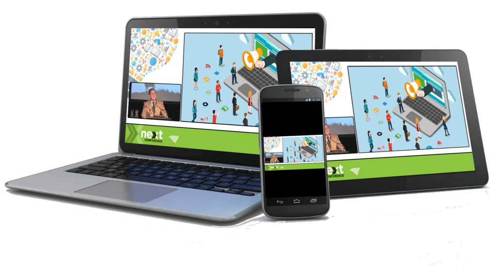 Live stream an event | Event webcasting on any device