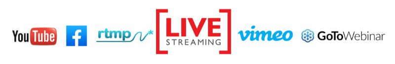 Live stream an event | Event webcasting on any platform