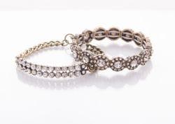 Diamante Bar Bracelet