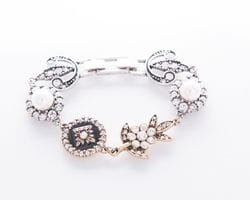 Black Enamel Bracelet