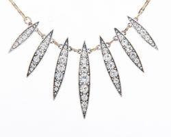 Diamante Spike Necklace