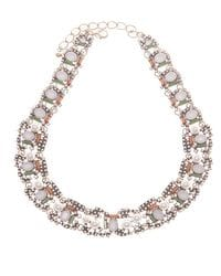 Pearl & Crystal Collar Necklace