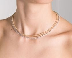 Crystal Twist Necklaces