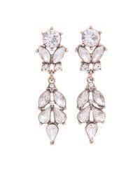 Diamante Petale Earrings