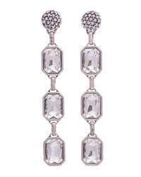 Disco Crystal Drop Earrings