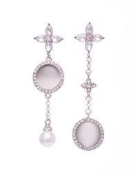Silver London Earrings