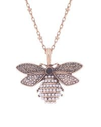 Long Bee Necklace