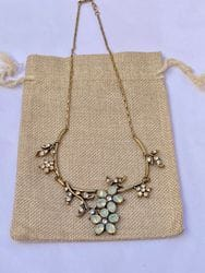 PPJ's Golden Flora Necklace