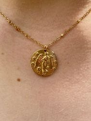 Virgo Horoscope Necklace