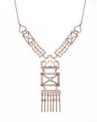 Chrysler Deco Necklace