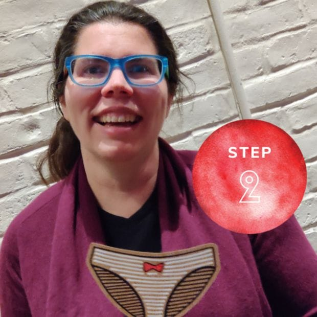 start a chapter step 2 | the period purse