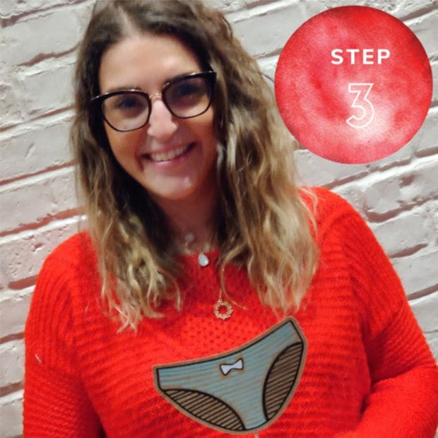 start a chapter step 3 | the period purse