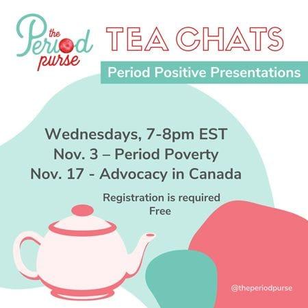Tea Chats | The Period Purse