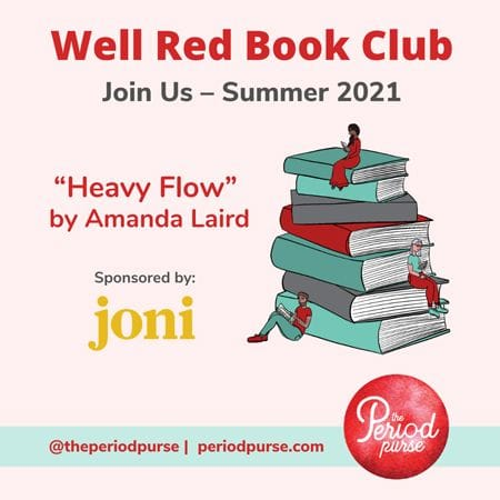 Well Red Book Club | The Period Purse