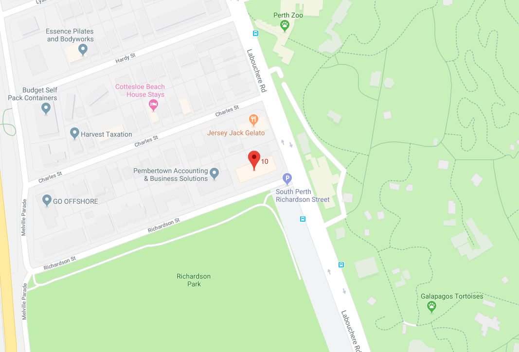 Red Chamber Company PTY LTD Location map