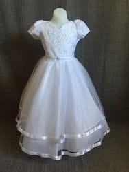 Short Sleeve floral/Sequin Dress