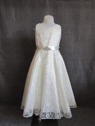Lace Dress- IVORY