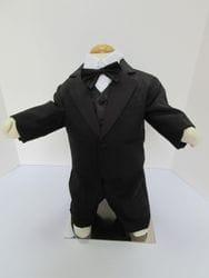 Black Tuxedo With Paisley