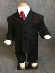 Black Infant Suit