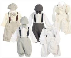 5 Piece Suspender Set