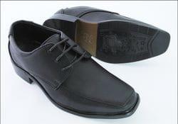 MAVEZZANO- Black Dress Shoe