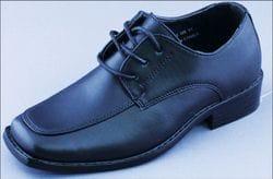 MAVEZZANO-Boxed toe, Black Dress Shoe