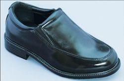 MAVEZZANO-Black Slip On Dress Shoe