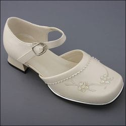 JOLENE- Ivory Chunky Heel