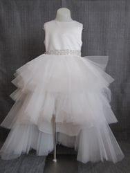 High Low Dress-WHITE