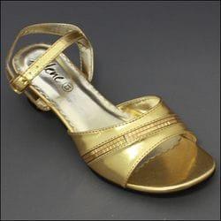 JOLENE- Gold or Silver Sandal