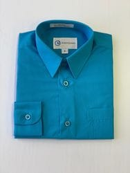 Bright Blue Dress Shirt