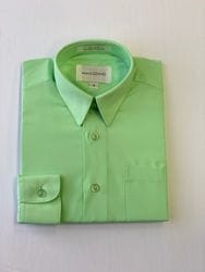 Mint/Lime Dress Shirt