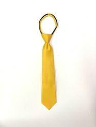 Yellow Zipper Tie