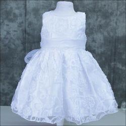 Floral Baptism dress