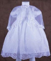 Floral princess Baptism dress