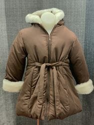 Brown Puffy Jacket