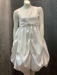 Satin Rhinestone Dress