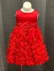 Red Petal Dress