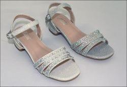 JOLENE- Rhinestone, Sparkle Open Toe Shoe
