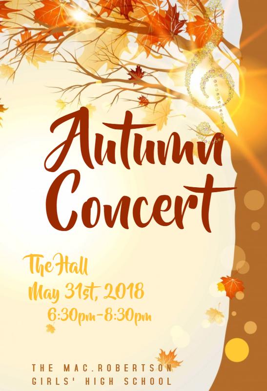 Autumn Concert 2018