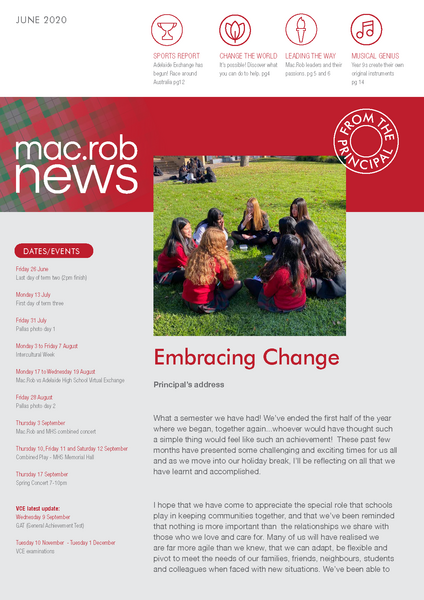 June Newsletter MacRob